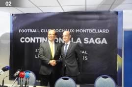 acquisition en juillet 2015 du club de football de Sochaux
