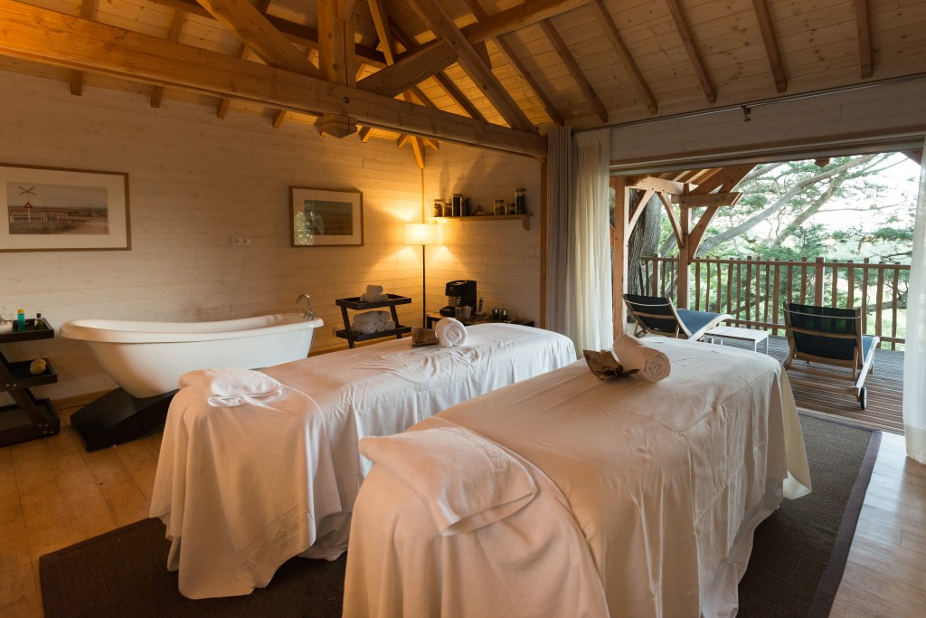La Gacilly, Eco-Hotel Spa Yves Rocher Massage