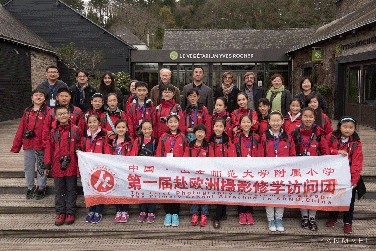 Jeunes photographes chinois de Jinan :  Workshop photos à La Gacilly le 4 avril 2016
